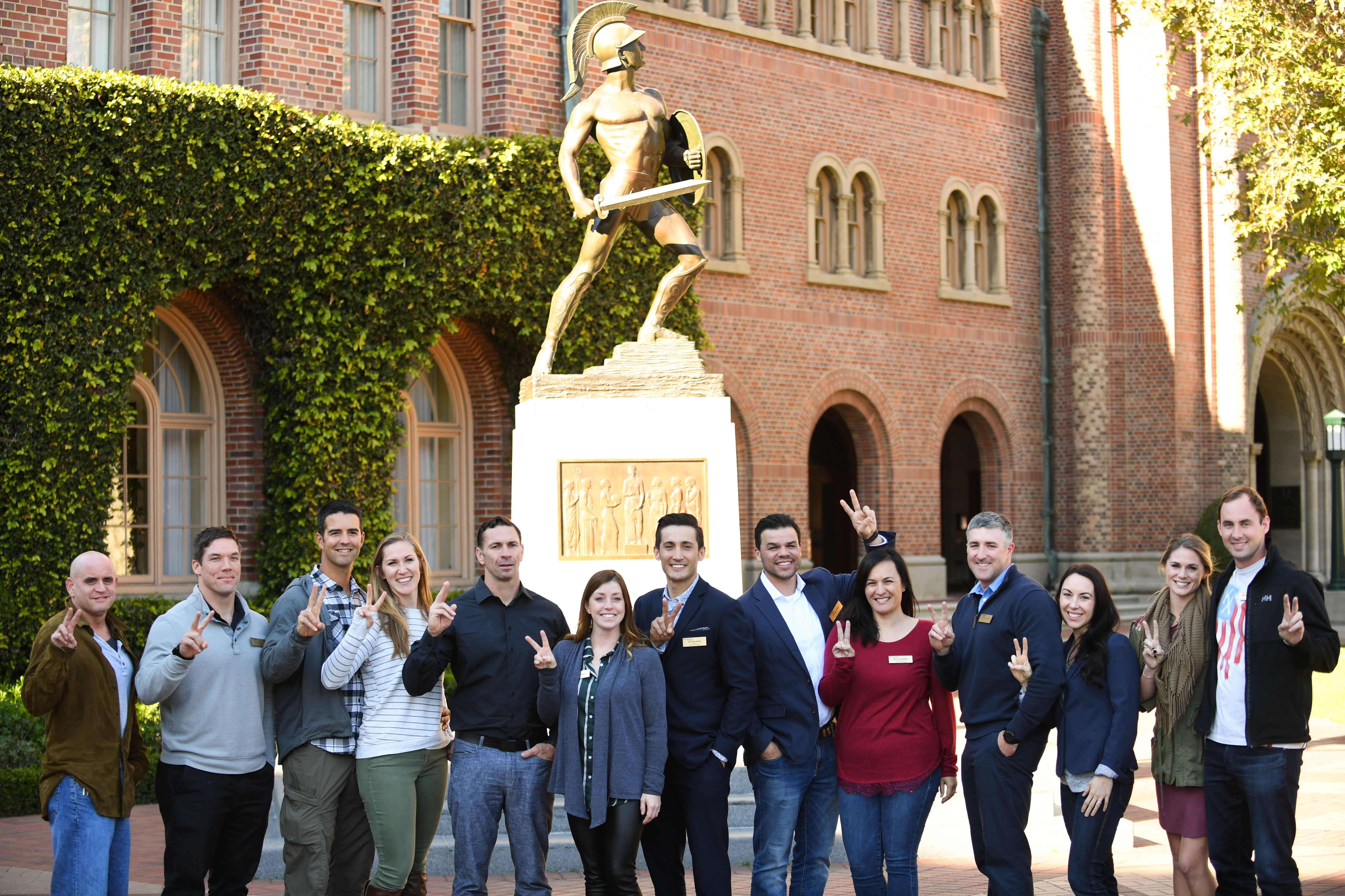 With Your Shield cohort and Tommy Trojan