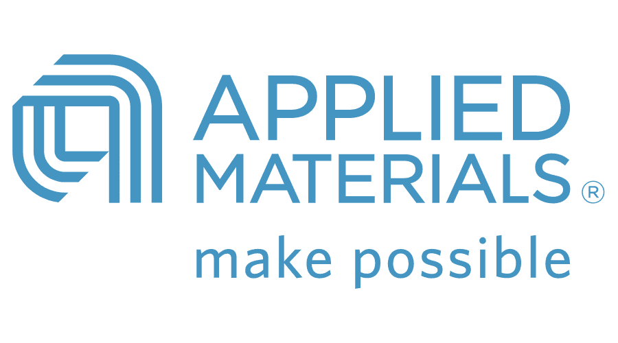 Applied Materials logo in blue text