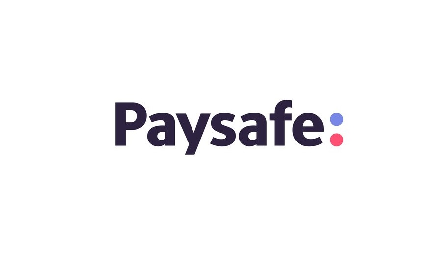 Paysafe logo in dark blue