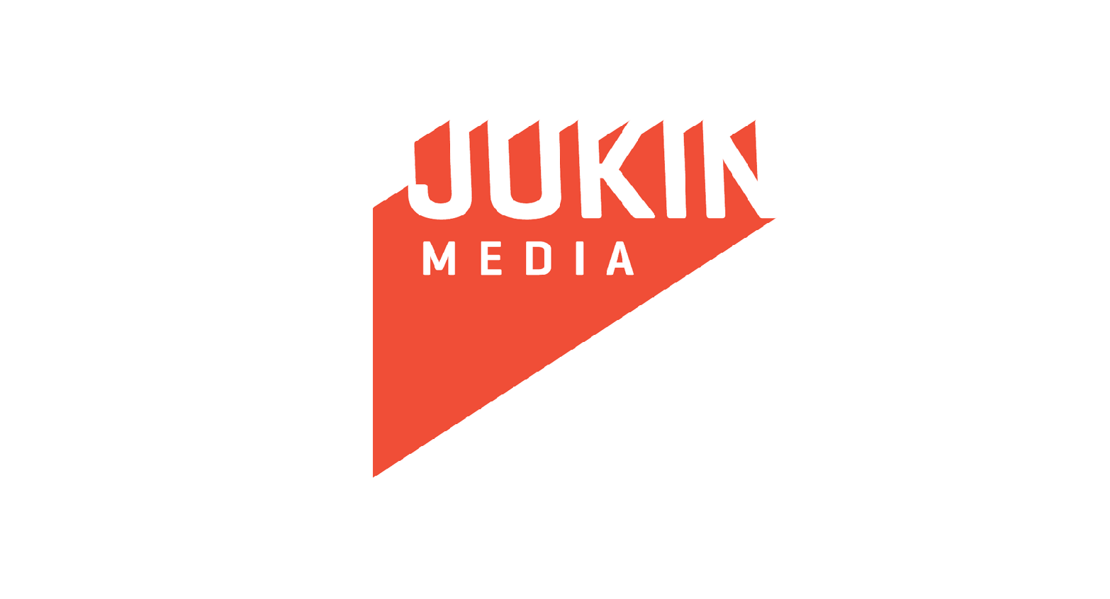 Jukin Media in orange and white font