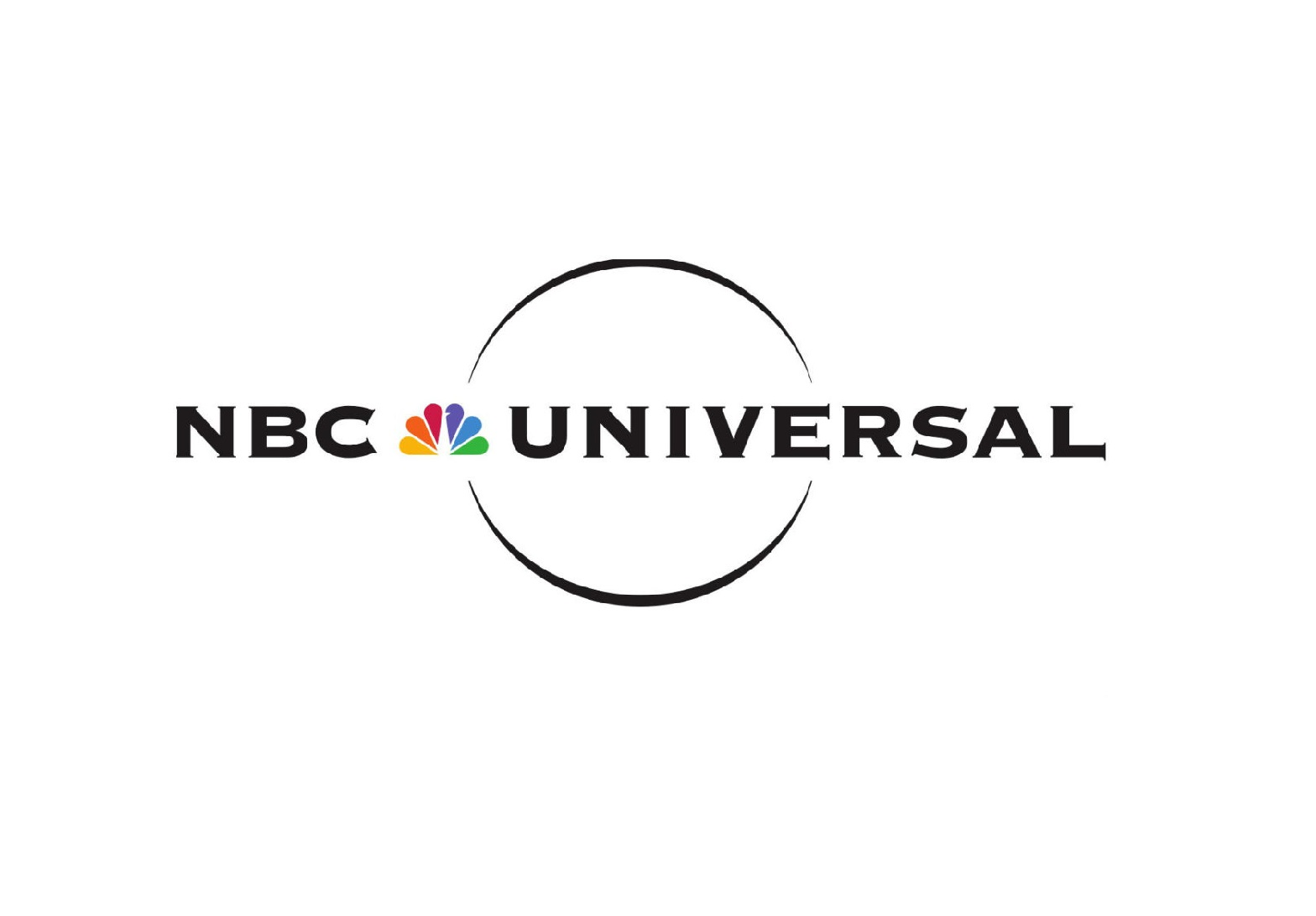 NBC Universal in black text