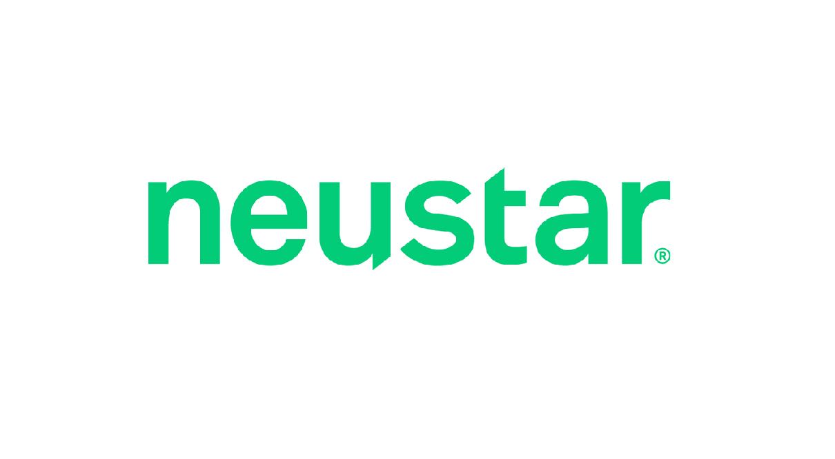 Neustar text in green