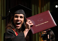 New USC Marshall grad, Fight On!