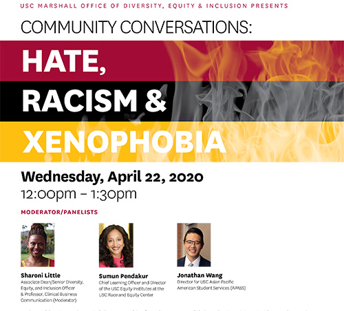 Community Conversations - Hate, Racism, Xenophobia