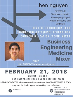 Hte@USC and TCCM mixer