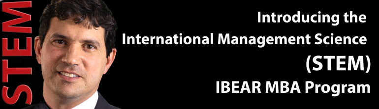 IBEAR International Management Science STEM MBA Program