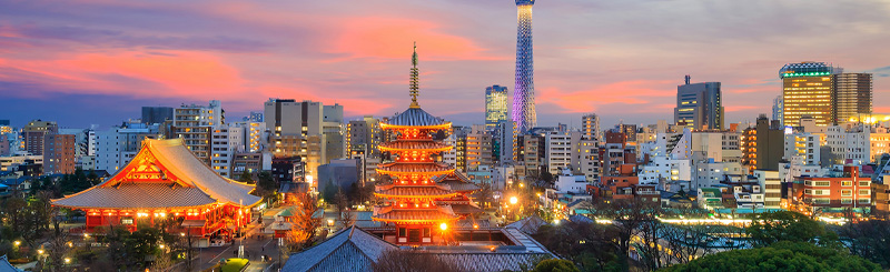 Japan, Tokyo - for global opportunities