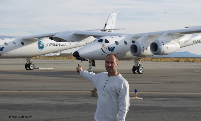 Greg at Virgin Galactic