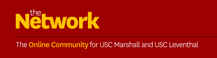 The Network, an online community for USC Marshall and Leventhal