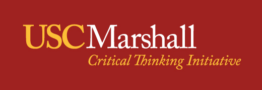 The USC Marshall Critical Thinking Initiative​​