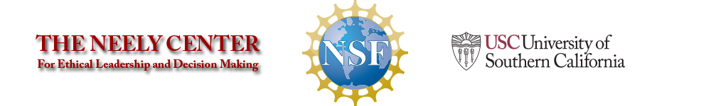 Neely Center banner with Neely Center, NSF, and USC logos