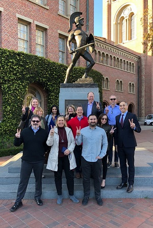 Entrepreneurship leaders Meeting USC Marshall 2018