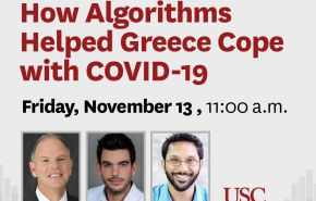 How Algorithms Helped Greece Cope with COVID-19
